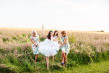 Bridal party - Bridesmaids and Groomsmen