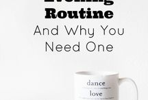 Evening Routine Inspiration - {a} Mindful Life