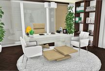 3D Offices / Because it's important to feel good at work, imagine and plan the perfect office for you and your collaborators on HomeByMe! / by HomeByMe