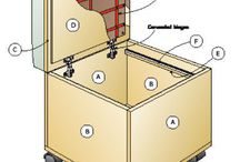Undercover Filing / Stylish filing furniture and file boxes to keep your home filing system unobtrusively contained.