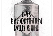 The King Gin - Moodboad