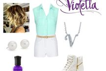 Violetta klær
