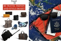 Fly high with Baggit's new travel range. / Its holiday season and what better way to head to your favourite vacation spot than to indulge in some gorgeous fashion?! Be it a passport holder, a sling or a trolley bag these swanky goodies by Baggit will have you looking fab and feeling ultra happening!