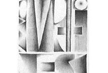 Kalligrafie Potlood