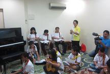 Studio Class 2013 @ Lippo Karawaci / Penampilan Siswa Sanggar Musik Indah dalam rangka kebersamaan membangun karakter bermain musik yang baik diantara sesama siswa yang diakhiri dengan acara potluck .