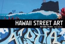 Volume One: Hawaii Street Art Graffiti Book / The Hawaii Street Art Book Series is a creative effort to help capture and preserve the temporary public expression appearing in the island landscape. http://www.HawaiiStreetArt.com/