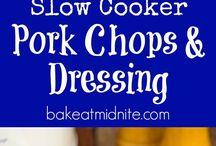 Pork Chop & Dressing