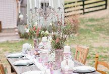 Venue // Private Property + Outdoors / Transform your backyard into a gorgeous wedding venue!