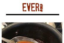 Sauces, Gravy's & Bastings