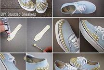 Tuunattuja kenkiä