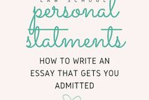 Law School - Personal Statement