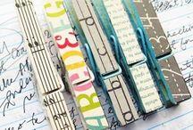 DIY Clothespins  / by Shayla Bird
