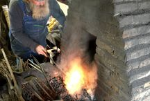 A short insite into how our Fire Steels are made / We were so lucky to have been sent some pictures by a friend called Adam who popped into Bethel Forge whilst our Fire Steels were being made and took this epic pics. Thanks Adam :). Its such a shame not to share them :)
