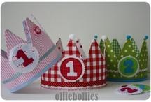 verjaardagskroon / Wat een feest met een kroon op
