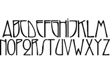Lettering / Handlettering and typography