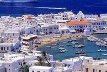 quero visitar / grecia