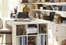 Craft room ideas / by Katie Hilbert