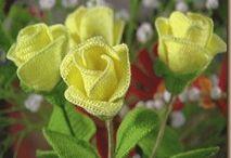 kwiaty szydelkowe
