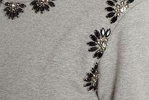 Suéteres,perlas y cuentas
