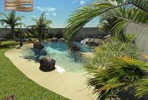 Proyectos en 3D para piscinas de arena / Así se crean los sueños. En Piscinas de Arena cuidamos todos los detalles del proceso. Para ello utilizamos la tecnología más avanzada y la ponemos al servicio de clientes y partners, integrando la piscina en el marco del proyecto de arquitectura y paisajismo