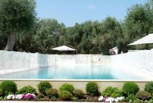 Luxury villa in Puglia / Spectacular six bedroom country house in Puglia with infinity pool, landscaped gardens and stunning roof terrace.  Fabulous for kids, and just 10 mins drive to the coast.