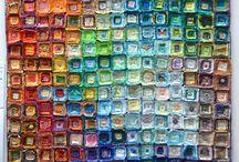 distribución colores