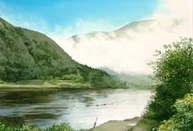Акварель - туман