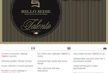 BELLO SEDIE HAS GOT TALENTO / The new catalogue in on line now!