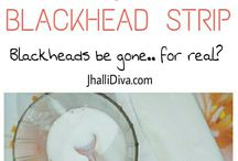 Black head strip
