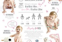 First birthday graphics poster