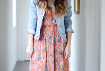 Modest Outfits for Summer / outfit inspiration, summer, church outfits, sunday best, modest trends, summer clothing, summer outfits, summer fashion, modest casual summer outfits, modest dressing, dressing modestly in hot weather