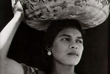 """[M] Tina Modotti [1896-1942] / Tina Modetti was an Italian American photographer. She is known for portraits, plant studies, series """"Women of Tehuantepec"""", and images of the Mexican revolutionary movement during 1920s. She was a protégé and muse of Edward Weston."""