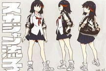 personajes anime para dibujar