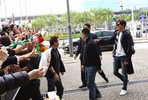 Lee Min Ho @ Hong Kong International Airport and Incheon International Airport - 22.03.2015