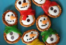 Christmas or Winter snacks for kids