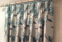 Curtains pleated