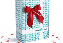 Geschenk-Box / TrendRaider / Die GeschenkBox könnt ihr euch ganz individuell zusammenstellen und direkt zu euren Liebsten liefern lassen <3