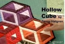 hollow cube quilt
