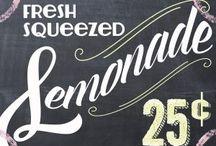 Lemonade Stand Photo Mini Session