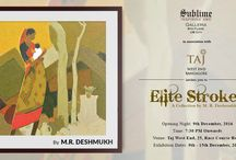Elite Strokes by M.R. Deshmukh