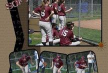Softball scrapbook
