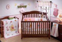Baby Girl Nursery Ideas / by Angie Weiler