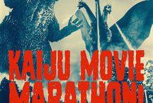 Kaiju movie marathon