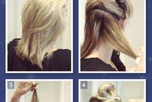 Sleek up dos / Hair up