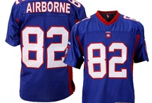 Football Jerseys / Military Football Jerseys ; Army, Navy, Air Force, USMC, 101st Airborne, 82nd Airborne,  Calvary, Infantry, Army Strong, Rangers... Many more and more to come / by PriorService.com
