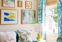 Living Room DIYs and more