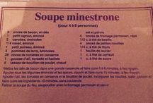 Soupe / Recettes soupes