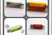 Great personalised gift USB pen drive 8gb / USB pen drive laser engraved with your company logo or text