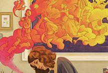 Art / Die Kunst ist der natürliche Feind der Normalität. -Peter Rudl