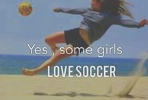 Soccer / Right in there after volleyball!lol